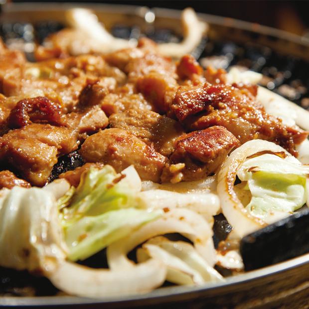鶏ちゃんの調理方法 鉄板焼き