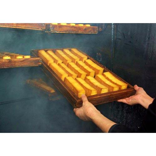 燻り豆腐の製造工程